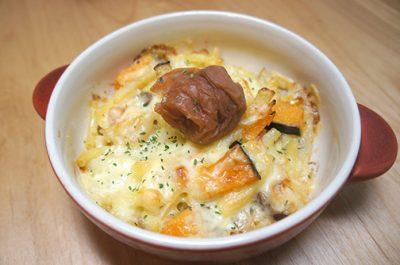 TBSジョブチューンで紹介梅料理「梅グラタン」